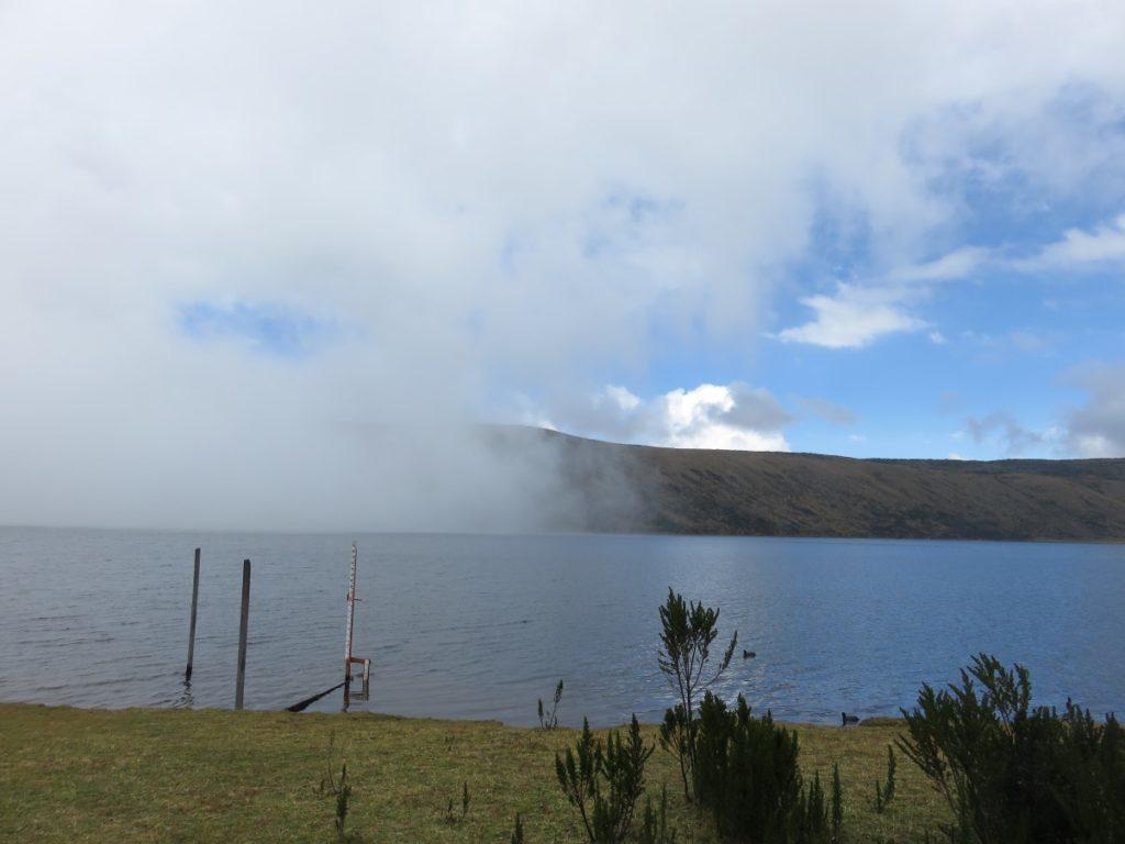 Laguna del Otún desde el camping