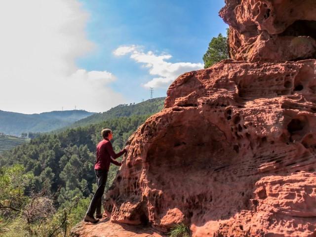 Vistas cuevas de Can Riera