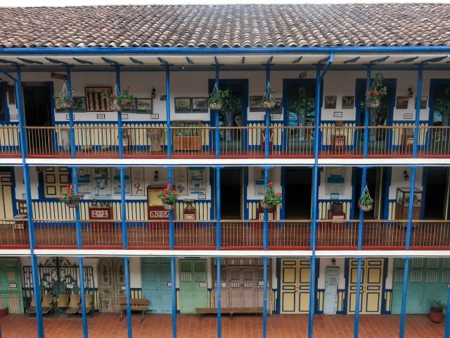 Casa de la cultura, Marsella - Colombia