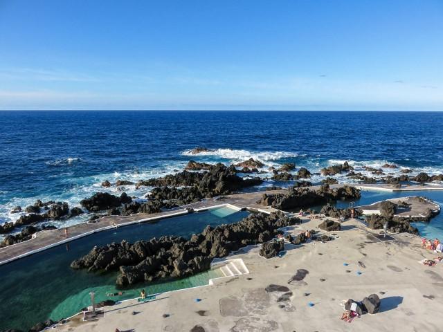 Piscinas naturales de Porto Moniz, Madeira
