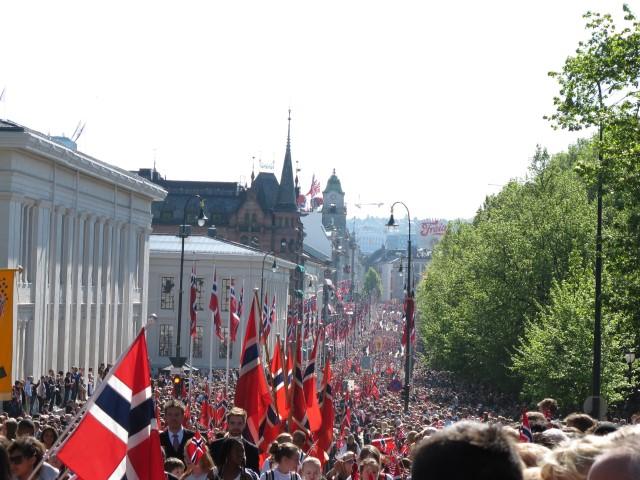 Celebración del 17 de mayo en Oslo