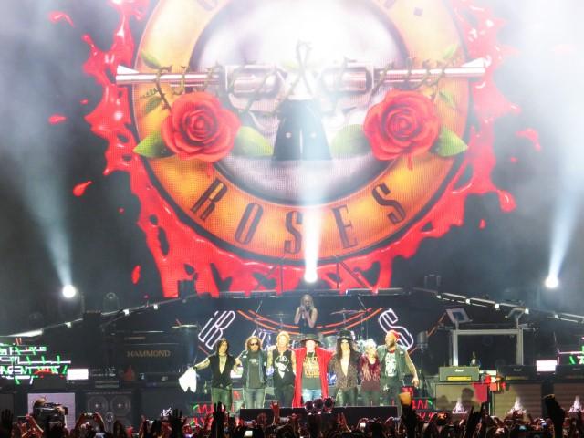 Guns n Roses en Praga