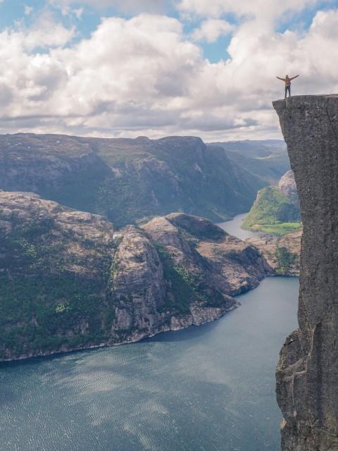 Preikestolen-Noruega