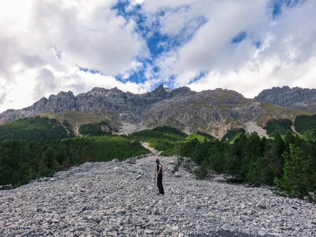 Ruta parque nacional suizo