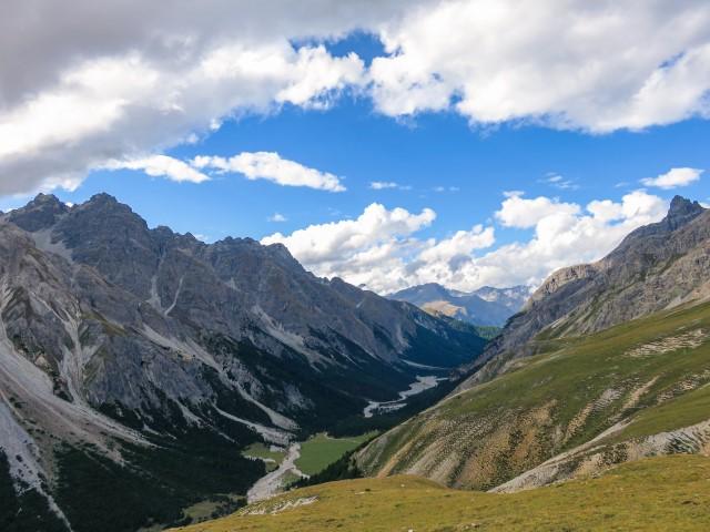 Vistas Parque Nacional suizo