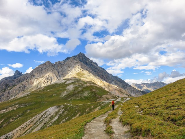 Vistas Val Minger parque naciona suizo