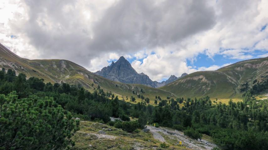 Vistas panorámicas en el Parque nacional Suizo