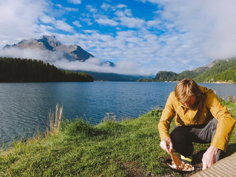 Desayuno en Silsersee