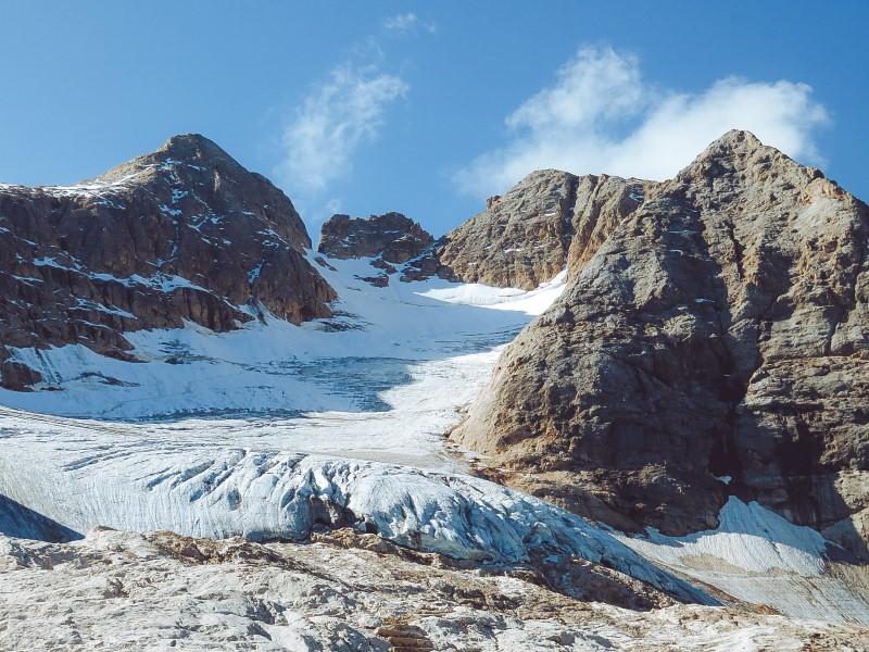 Glaciar de la Marmolada