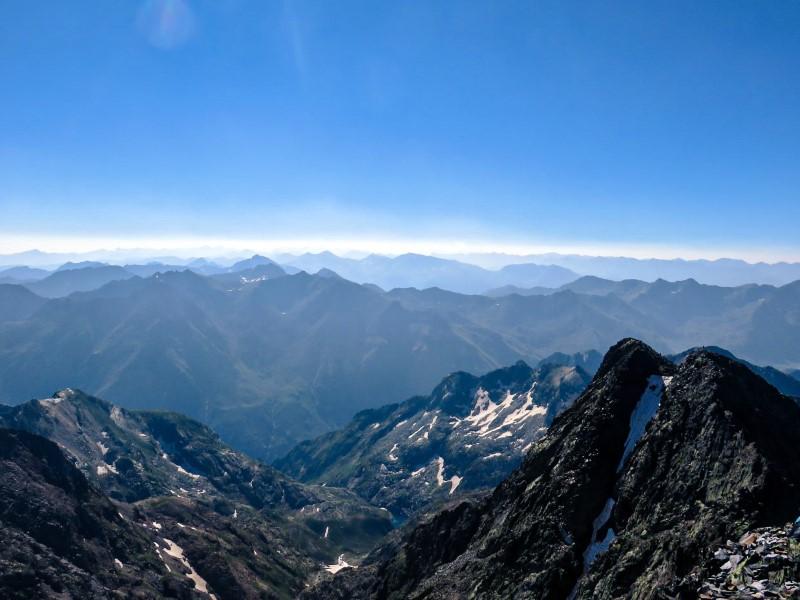 Vistas desde la cima de la Pica