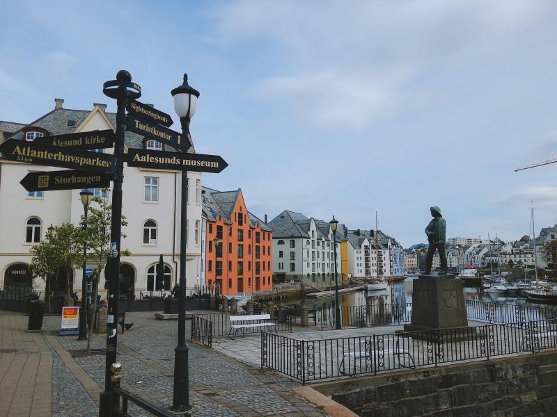 Alesund ciudades de Noruega