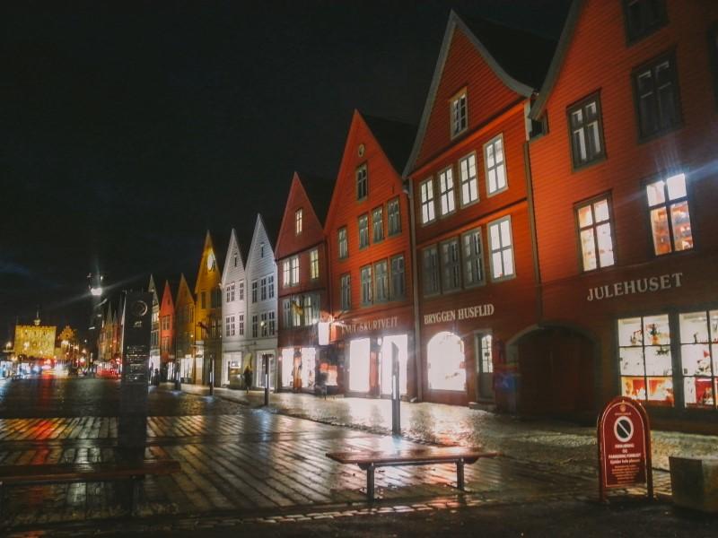 Bergen ciudades de Noruega