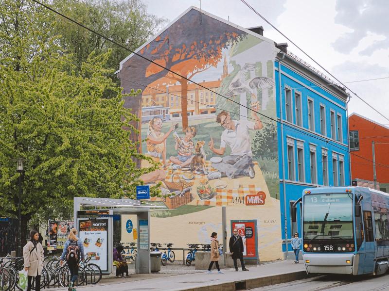 murales en Oslo