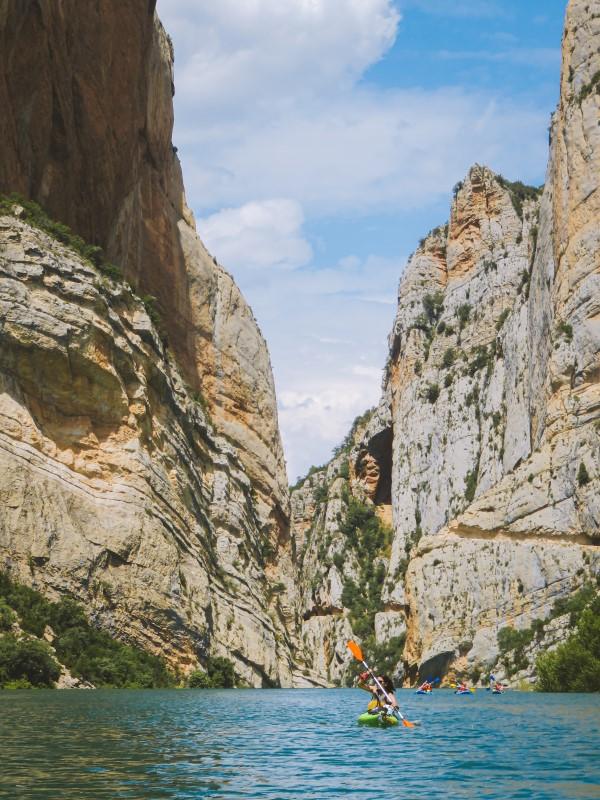 Kayak en Montrebei