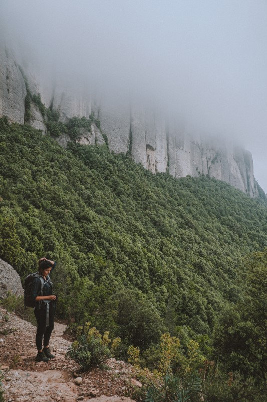 Roca-foradada-en-Montserrat