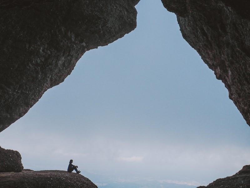 Ruta-a-la-roca-foradada-de-Montserrat.