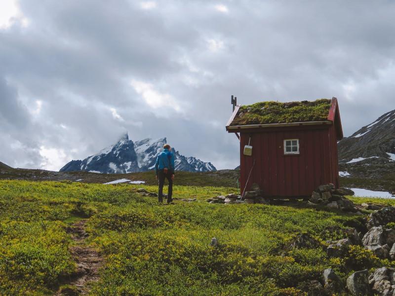 Cabaña en el Romsdalseggen