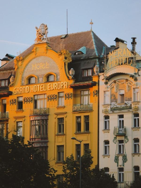 Hotel Europa Praga