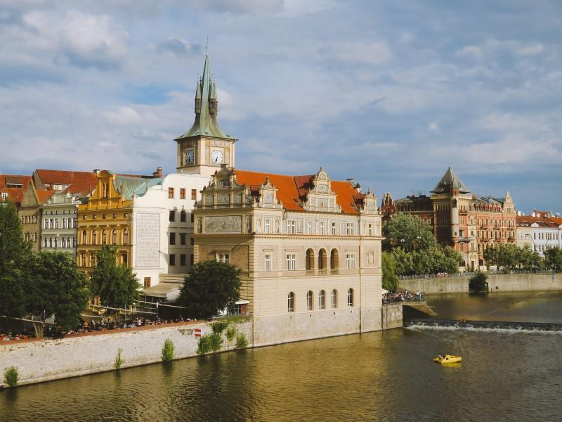 Praga desde el Puente de Carlos