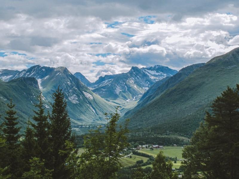 Vistas desde Isfjorden