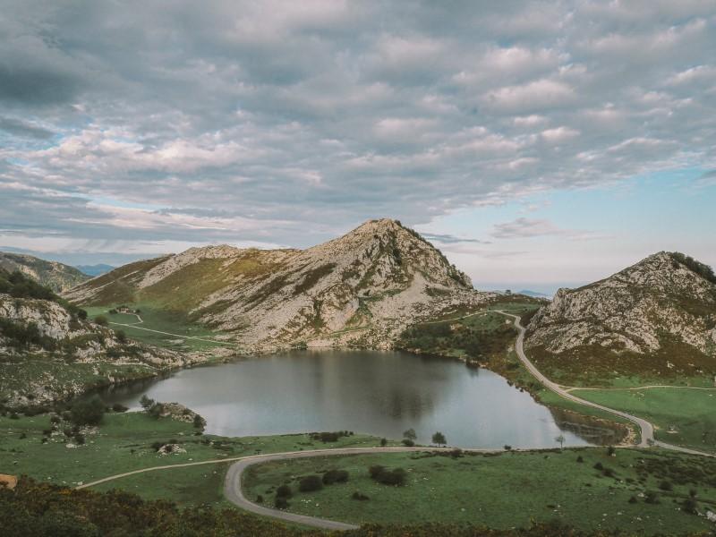 Lagos-de-Covadonga-en-Asturias