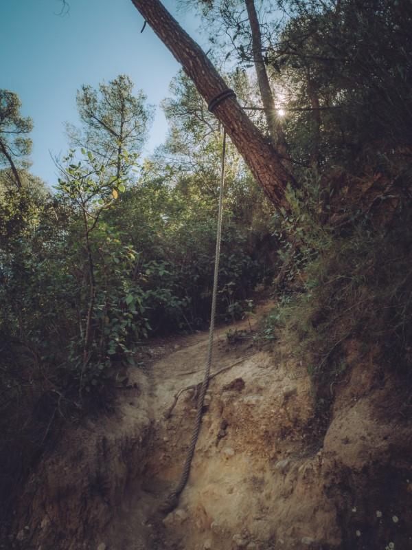 Cuerdas en la ruta