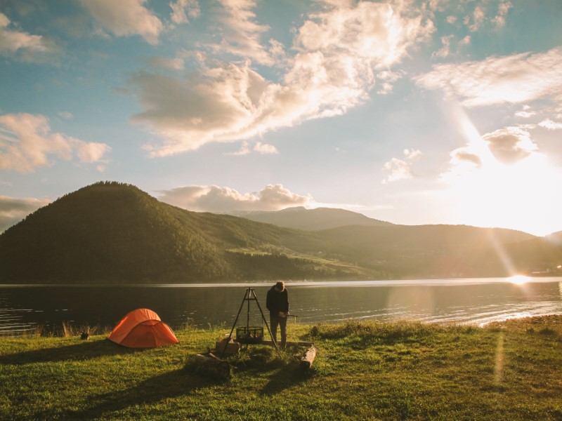 Camping en kaupanger