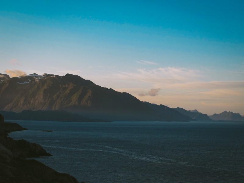 Dormir con vistas al mar en Lofoten