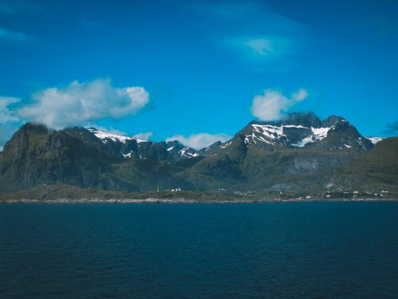 Ferry a las Lofoten