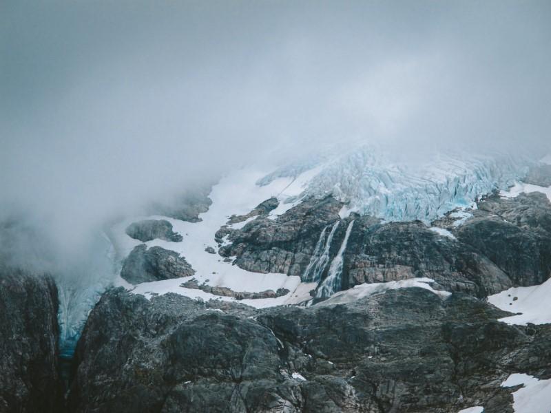 Glaciar Jostedal en Noruega