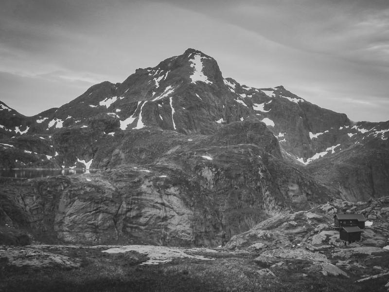 Llegando a Munkebu, en Lofoten
