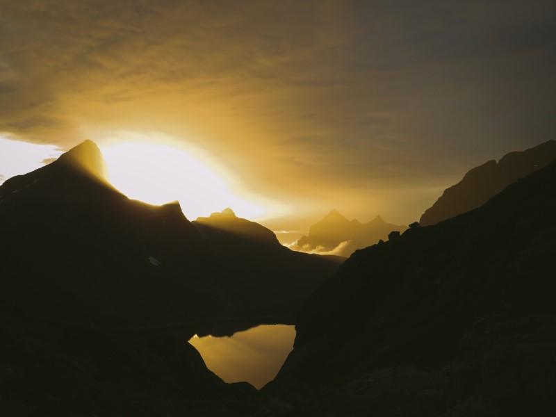Sol de Medianoche, Lofoten