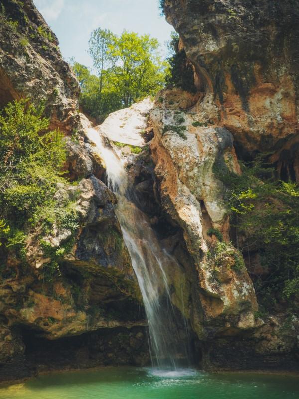 Ruta saltos de agua de la Febró